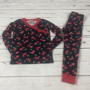Hanna Andersson cherry pajamas